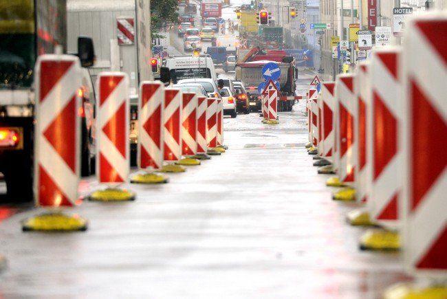 Vom 18. bis 20. Juli kommt es zu einer kompletten Sperre der Brünner Straße in Floridsdorf.