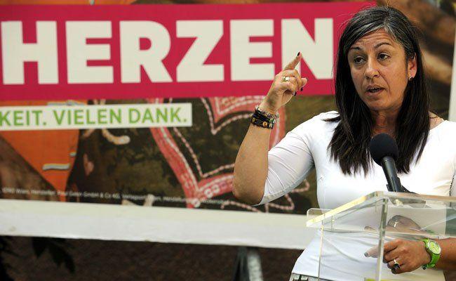 Vassilakou warnt die Wähler vor einer Stimme für die SPÖ.