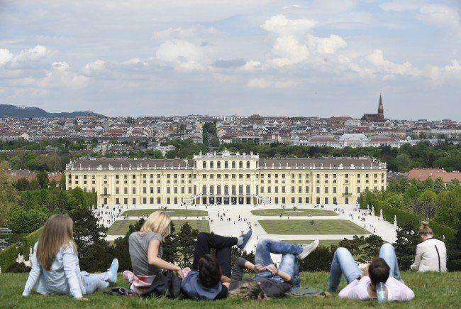 Am Wochenende wird es in Wien kühler - trotzdem bleibt es sommerlich.