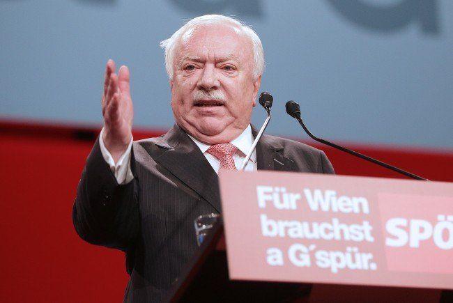 Häupl will für Wiener AMS mehr Geld vom Bund