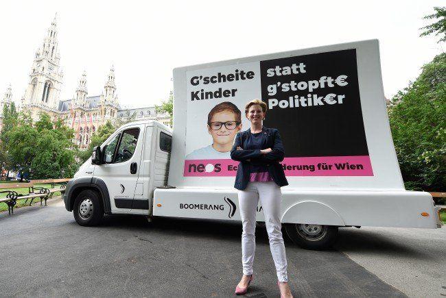 Wiener NEOS: Auffallen um jeden Preis