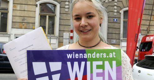 ''Wien anders'' rechnet ''fix'' mit dem Einzug in den Gemeinderat