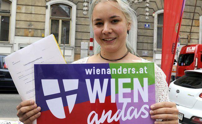 """""""Wien Anders"""" stellt sich der Wahl in Wien"""