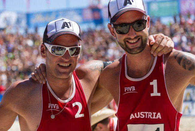 Das Erfolgsduo Doppler/Horst wollen bei der Beach Volleyball EM in Klagenfurt groß aufzeigen.