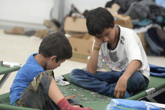 Asyl - Angeblich 1.800 unbegleitete Minderjährige in Traiskirchen