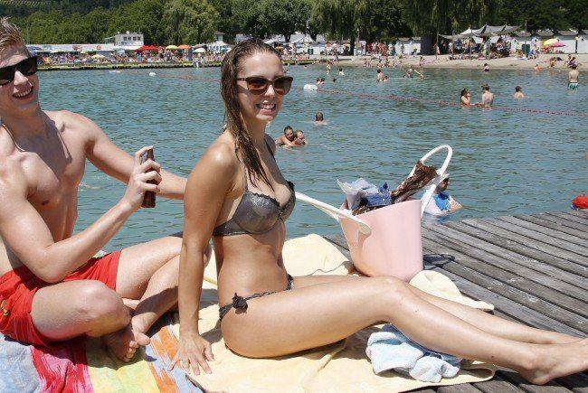 Am Dienstag wurde es in Österreich erneut heiß.