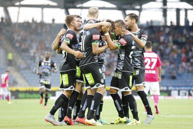 Sturm Graz trofft auf Rubin Kasan in der Europa League-Qualifikation.