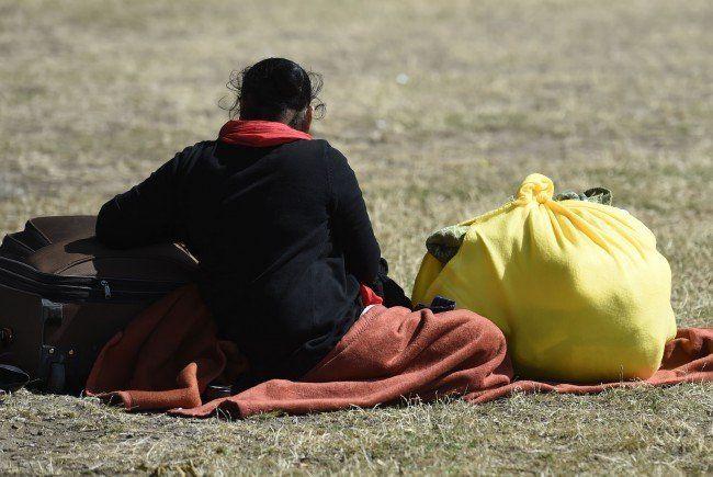 Im Wiener Stadtgebiet wurden am Donnerstag 99 Flüchtlinge von SChleppern ausgesetzt.