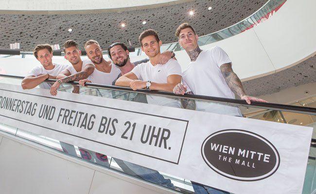 Am 6. August findet eine Modenschau in WIEN MITTE The Mall statt.