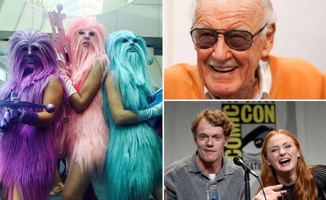 Comic Con 2015 begeistete die Besucher