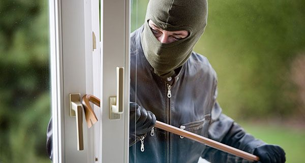 Dem Einbrecher wurde das Handwerk gelegt