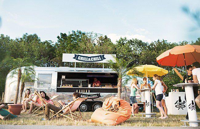 Die KUNER Grill& Chill Tour macht mehrfach Halt in Wien
