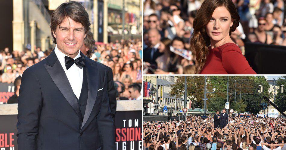 Tom Cruise und die Co-Stars bei der Weltpremiere in Wien