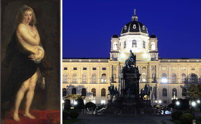 """Um Rubens """"Pelzchen"""" (l.) dreht sich die Austellung im Kunsthistorischen Museum"""