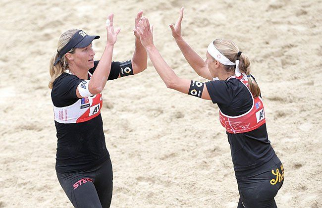 Barbara Hansel (AUT) und Stefanie Schwaiger (AUT)