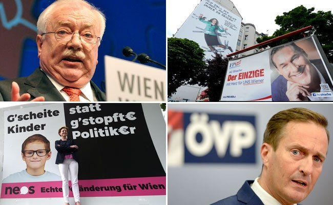 Wien-Wahl vor dem Anpfiff - Mannschaften bringen sich in Stellung