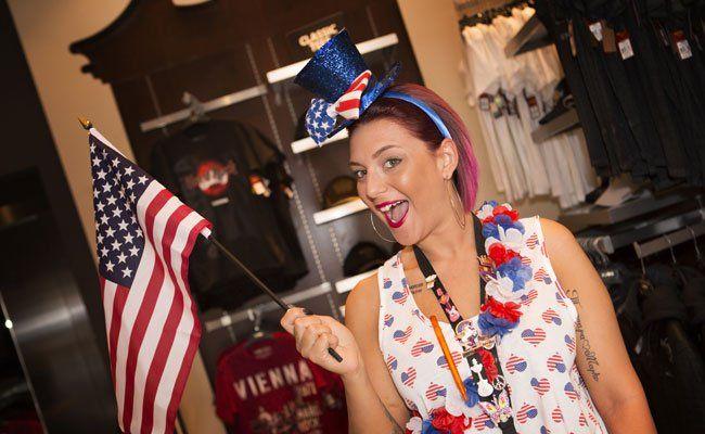 Am 4. Juli wurde im Hard Rock Cafe der Independence Day gefeiert.