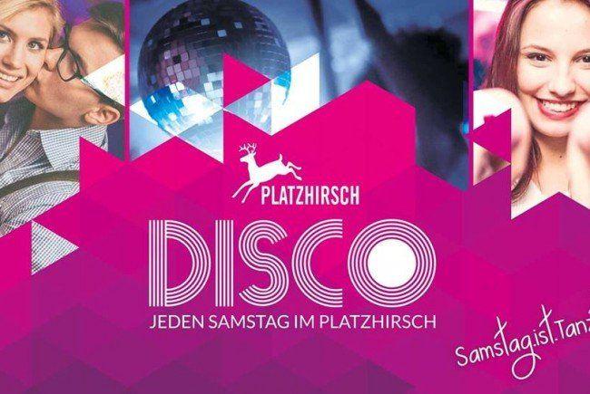 2×2 Tickets für DISCO im Platzhirsch