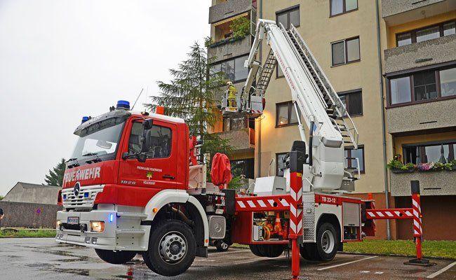 Einsatz der Feuerwehr am Mittwoch in Vösendorf.