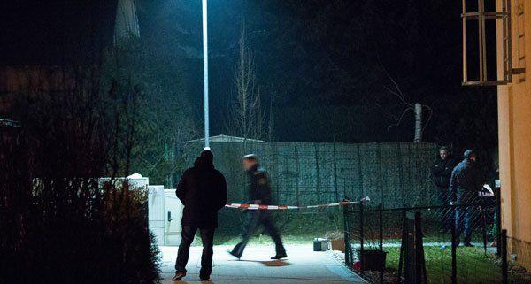 Nach dem Schusswechsel in Wien-Floridsdorf gab es nun einen Lokalaugenschein.