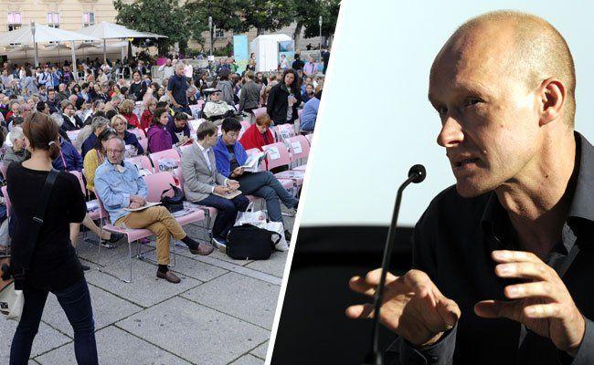 Arno Geiger hat am Donnerstagabend das Literaturfestival eröffnet.