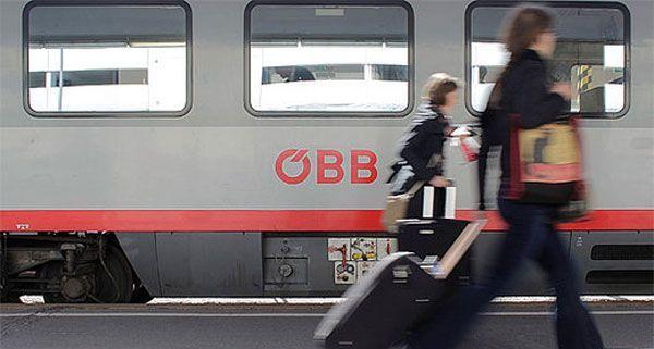 In Wien wurden über 200 Flüchtlinge in einem Zug gefunden