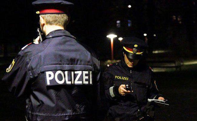 Die Polizei nahm einen jugendlichen Randalierer fest