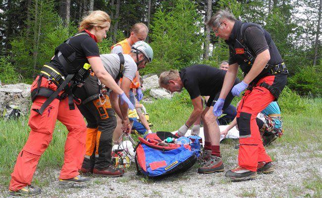 In Reichenau wurde die Bergrettung alarmiert.