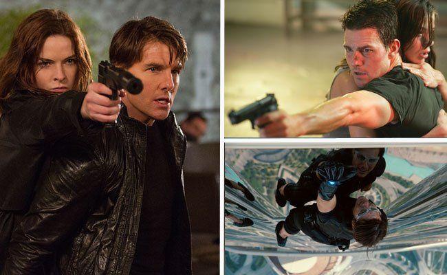 Tom Cruise spielt seit 19 Jahren in Mission: Impossible