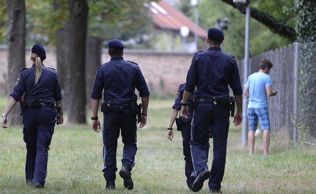 Die Polizei hat acht Flüchtlinge in Traiskrichen festgenommen.