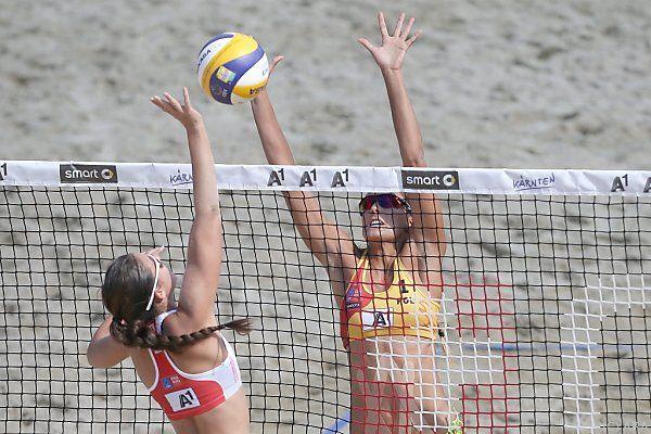 Brzostek und Kolosinska waren zu stark für das Team Rimser/Strauss.