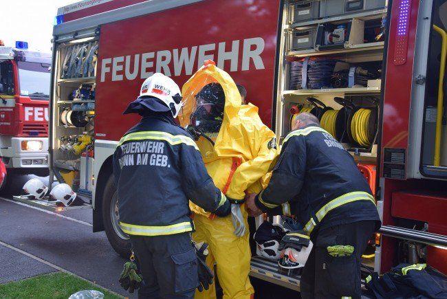 In Brunn am Gebirge musste die Freiwillige Feuerwehr ausrücken.