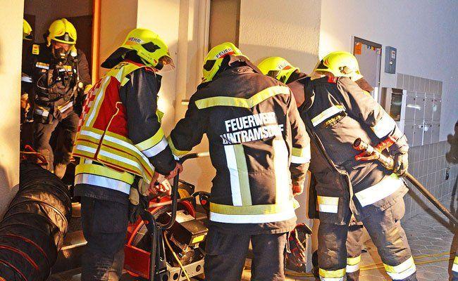 Die Feuerwehr konnte den Brand im Wohnhaus löschen.