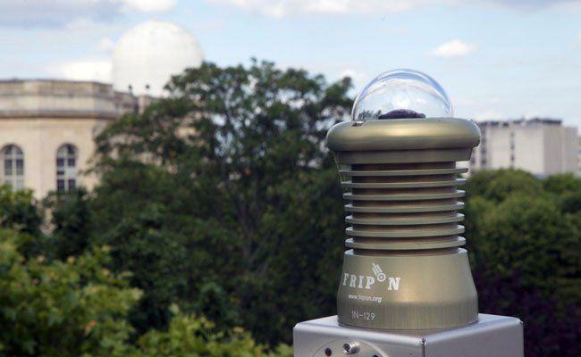 Eine Meteorkamera soll auf dem Dach des Naturhistorischen Museums Wien installiert werden.