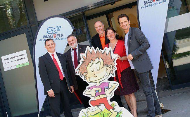 In Brigittenau wurde das neue Eltern-Kind-Zentrum eröffnet.
