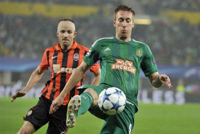 Robert Berič und Rapid geben sich noch nicht geschlagen.