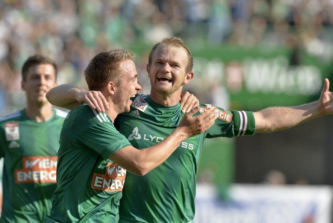 LIVE-Ticker zum Spiel SK Rapid Wien gegen SV Mattersburg ab 18.30 Uhr.