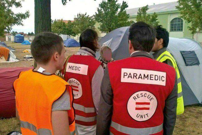 Die Flüchtlinge in Traiskirchen werden medizinisch betreut.