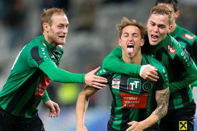 Wacker Innsbruck ist der neue Tabellenführer in der Ersten Liga.