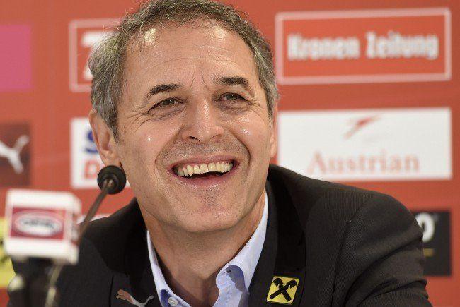 Marcel Koller gibt den Kader für die EM-Qualifikationsspiele gegen Moldawien und Schweden bekannt.