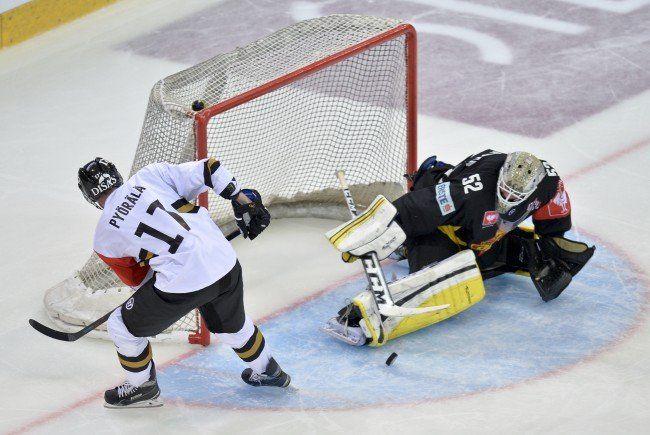 Die österreichischen Eishockey-Teams hatten in der CHL bisher kein Glück.