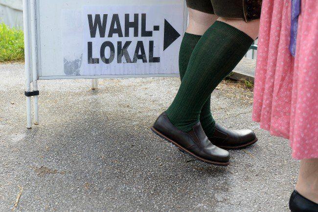 Um 16.00 Uhr schließen am 27. September die Wahllokale in Oberösterreich.