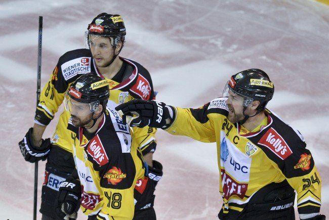 Für die Vienna Capitals geht' in der CHL gegen Kärpät Oulu los.