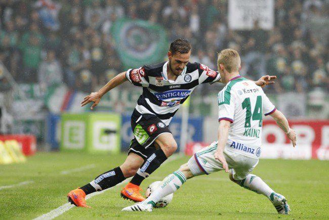Sturm Graz und Rapid Wien treffen im Schlager der fünften Runde aufeinander.