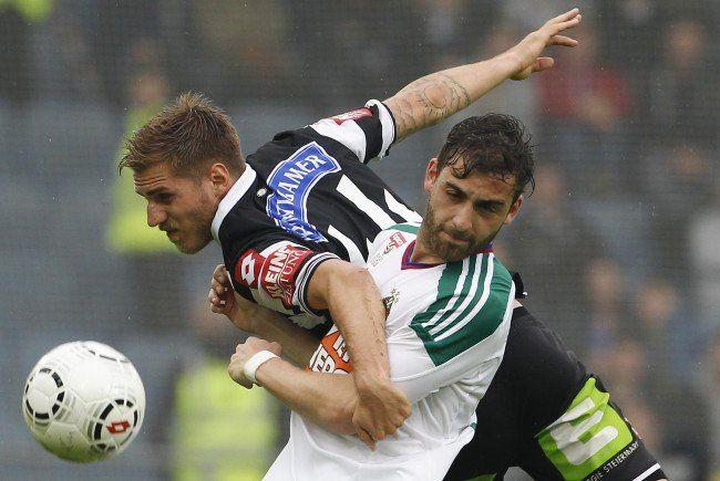 LIVE-Ticker zum Spiel SK Stum Graz gegen SK Rapid Wien ab 16.30 Uhr.