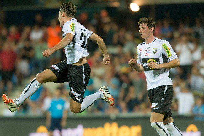 Altach will sich gegen Belenenses Lissabon im Europa LEague-Play-Off durchsetzen.