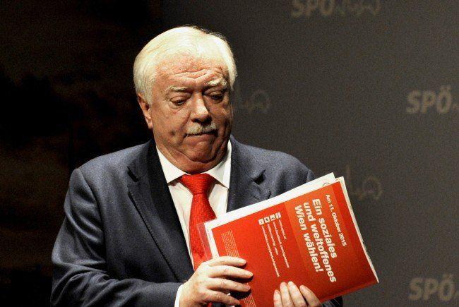 Die Meinungsforscher sehen Michael Häupl und seine SPÖ auf dem absteigenden Ast.