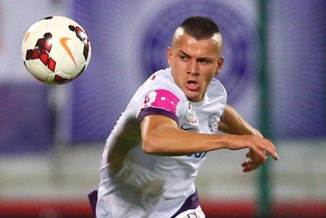 Srđan Spiridonović (r., hier noch im Austria-Dress), wechselt zur Admira.