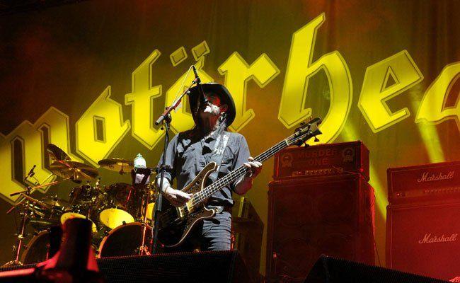 Motörhead geben im Frühjahr 2016 ein Konzert in der Wiener Stadthalle.
