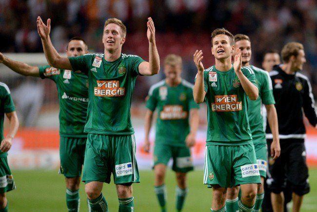 Fußball: Rapid-Erfolgslauf soll gegen WAC prolongiert werden